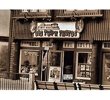 """Gatlinburg, Tennessee Series, #5... 'The Old Timey Photo Shop, 3rd Picture'""... prints and products   Photographic Print"