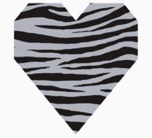 0347 Lavender Gray Tiger Kids Tee