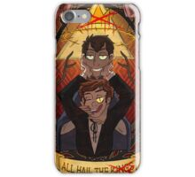All Hail the Gods - Background version iPhone Case/Skin