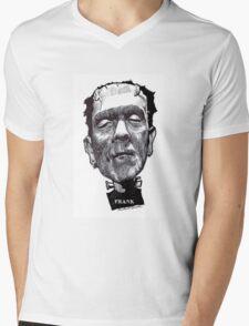 let's be Frank Mens V-Neck T-Shirt