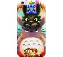 Totoro and Friend iPhone Case/Skin