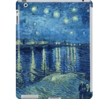 Vincent van Gogh - Starry Night over the Rhone iPad Case/Skin