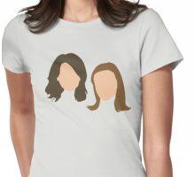 tal mae tal filha etc Womens Fitted T-Shirt