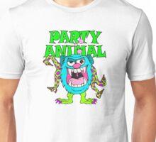 Party Animal Monster Cartoon Unisex T-Shirt