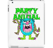 Party Animal Monster Cartoon iPad Case/Skin