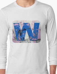 Blue W Long Sleeve T-Shirt