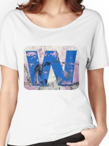 Blue W Women's Relaxed Fit T-Shirt