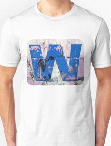Blue W Unisex T-Shirt