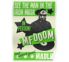 Retro MF Doom Poster