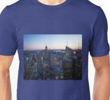 New York Sunset #4 Unisex T-Shirt