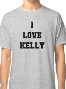 "Justin & Kelly Wedding - Special Edition Shirt - ""Kelly"" Classic T-Shirt"
