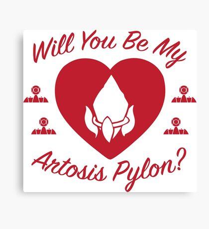 Will you be my Artosis Pylon? Canvas Print
