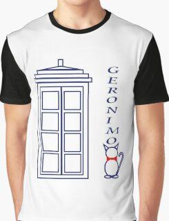 Geronimo! - Doctor Who Graphic T-Shirt