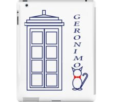Geronimo! - Doctor Who iPad Case/Skin