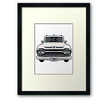 1960 Ford Truck Framed Print