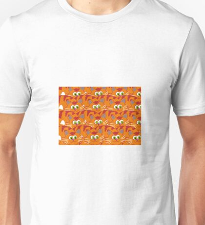 Cat wallpaper Unisex T-Shirt