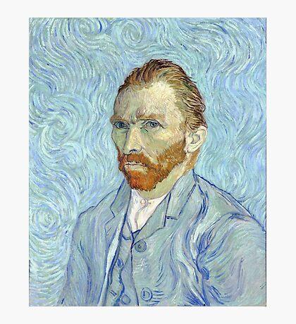 Vincent van Gogh - Self Portrait Photographic Print