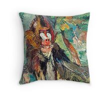The Mandrill Throw Pillow