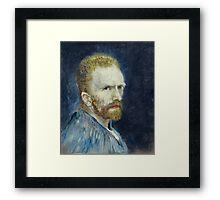 Vincent van Gogh - Self Portrait Framed Print