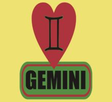 ♊★Love Gemini Fabulous Clothes & Phone/iPad/Laptop/MackBook Cases/Skins & Bags & Home Decor & Stationary & Mugs★♊ Kids Tee