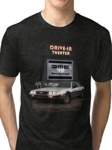 1982 DeLorean DMC-12 Night Tri-blend T-Shirt