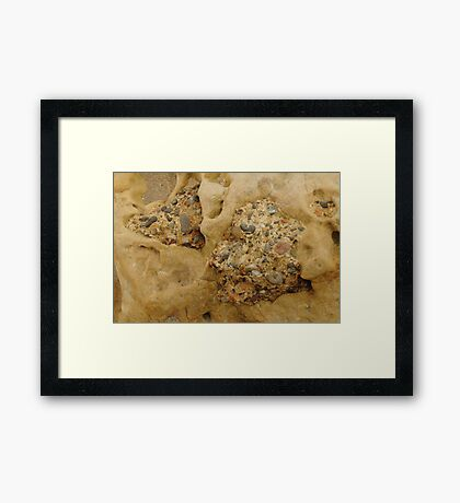 Rock In Rock In Rock Framed Print