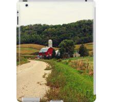 A Farm in Rural Wisconsin iPad Case/Skin