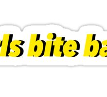 Girls Bite Back Sticker