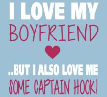 Love Me Some Captain Hook One Piece - Short Sleeve
