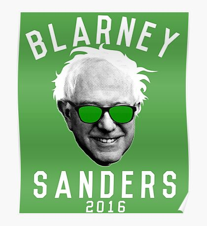 Blarney Sanders Poster