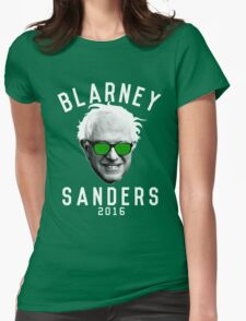Blarney Sanders Womens Fitted T-Shirt