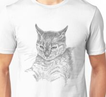 Wistful cat Unisex T-Shirt