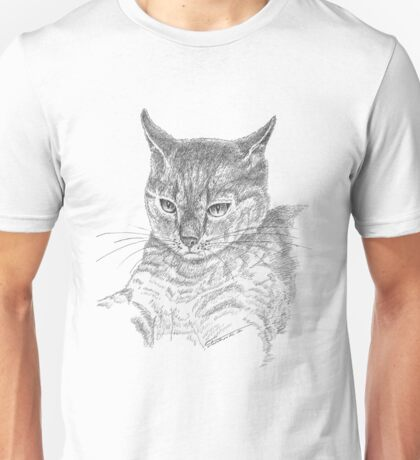 Wistful cat Unisex T-Shirt
