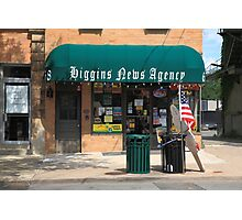 Flemington, NJ - News Shop Photographic Print