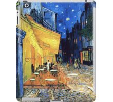 Vincent van Gogh - The Cafe Terrace on the Place de Forum in Arles at Nigh iPad Case/Skin