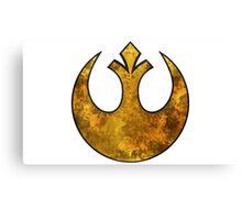 Rebel Alliance Tierfon Yellow Aces starbird Canvas Print