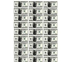 $100 Grimace Dollar Photographic Print