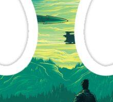 Star Wars VII - Poe Starship Sticker