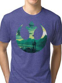 Star Wars VII - Poe Starship Tri-blend T-Shirt