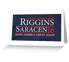 Riggins Saracen Greeting Card