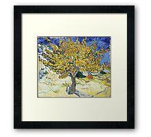 Vincent van Gogh - Mulberry Tree Framed Print
