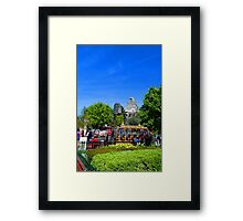 Spring Ride Framed Print
