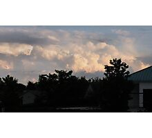 """Clouds at Dusk""... prints and products Photographic Print"