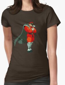 M. Bison Womens Fitted T-Shirt