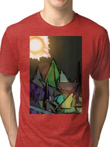 Sunny Side UP Morning  Tri-blend T-Shirt