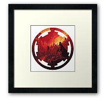 Star Wars VII - Galactic Empire Framed Print