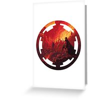 Star Wars VII - Galactic Empire Greeting Card