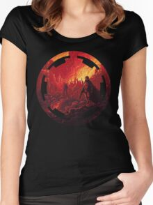 Star Wars VII - Galactic Empire Women's Fitted Scoop T-Shirt