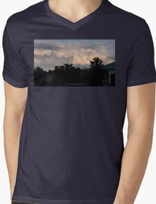 """""""Clouds at Dusk""""... prints and products Mens V-Neck T-Shirt"""