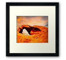 Nevada Valley of Fire -  Aztec Sandstone Framed Print